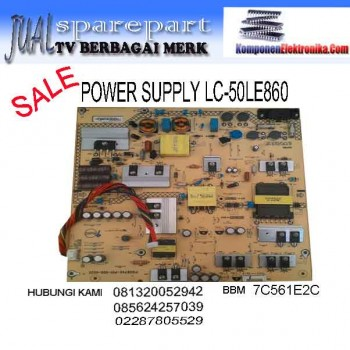 POWER SUPPLY LC-50LE860