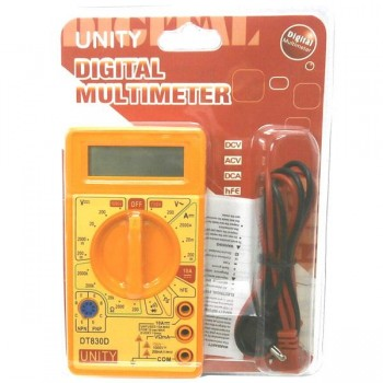 MULTITESTER DIGITAL MINI DT830D