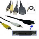 Kabel USB RCA Audio Video Sony W55/W70/W80/W900